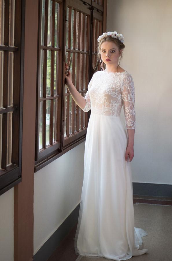"""Brautkleid von Lila Bridal, Model """"Couture 15"""" bei Traumkleid – Exklusive Brautmode Düssedorf"""