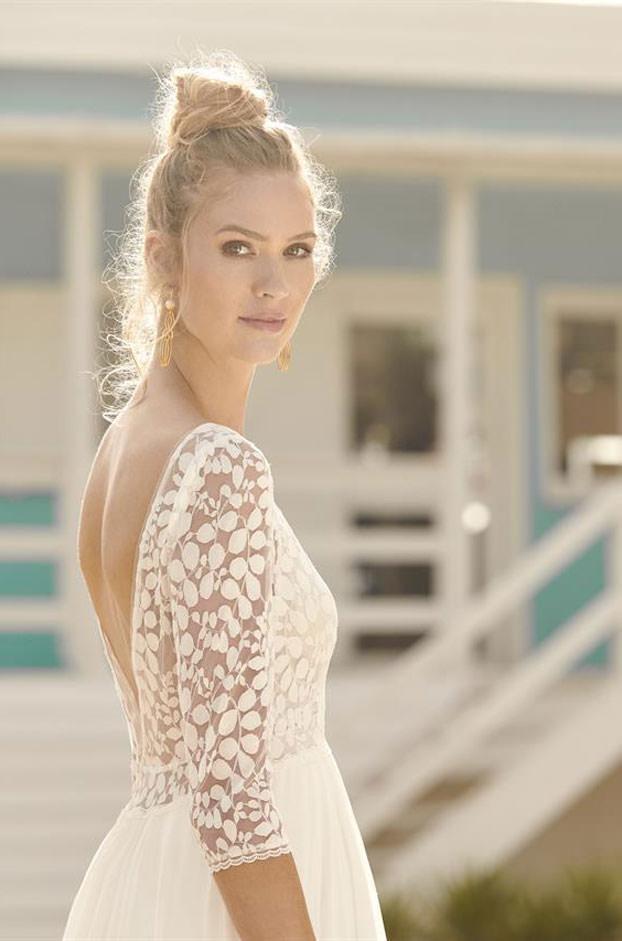 """Brautkleid von Rembo-Styling, Model """"Heloise"""" bei Traumkleid – Exklusive Brautmode Düssedorf"""