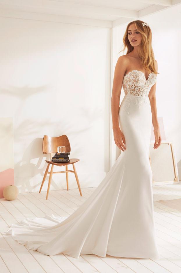 """Brautkleid von White One, Model """"Omura"""" bei Traumkleid – Exklusive Brautmode Düssedorf"""