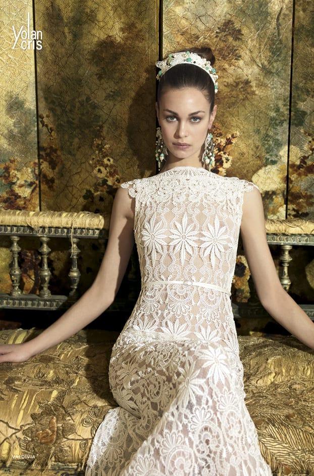 """Brautkleid von Yolan Cris, Model """"Valdivia"""" bei Traumkleid – Exklusive Brautmode Düssedorf"""